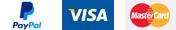 Passerelles de paiement (Paypal, Visa, Mastercard)