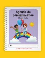 Agenda de communication 18 mois et plus