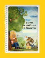 L'agenda de planification de l'éducatrice