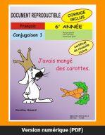 Conjugaison 1, 6e année par Caroline Simard, Reproductible, PDF