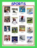 Affiche Les sports