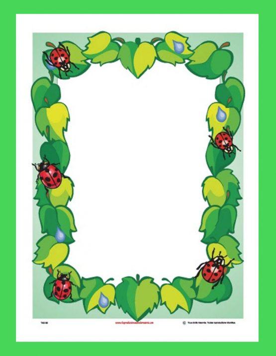 Affiche décorative (coccinelle)