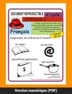 Inférence 2, 3e cycle par Danielle Malenfant, Reproductible, PDF