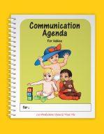 Agenda de communication Poupons, version anglaise