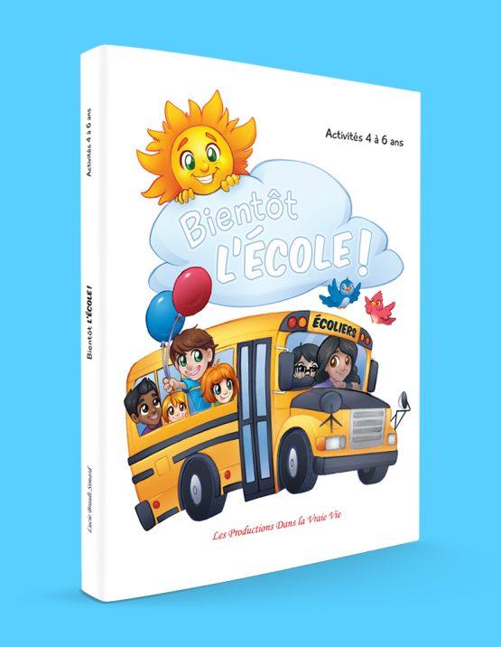 Couverture de Bientôt l'école! par Lucie Brault Simard
