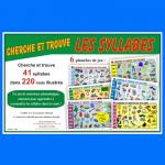 Cherche et trouve Les syllabes, jeux éducatifs