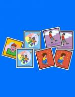Jeu de mémoire géant, jeux éducatifs