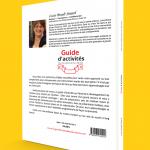 Verso de la couverture du Guide d'activités pour les enfants de 12 à 36 mois, par Lucie Brault Simard