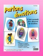 Parlons émotions par Lucie Brault-Simard, Livre d'activités
