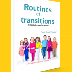 Couverture de Routines et transitions par Lucie Brault Simard