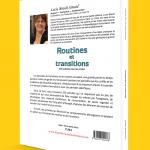 Verso de la couverture de Routines et transitions par Lucie Brault Simard
