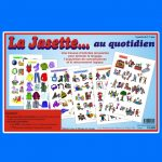 La Jasette... au quotidien, une trousse d'activités amusantes pour stimuler le langage, l'acquisition de connaissances et le raisonnement logique - Jeux éducatifs