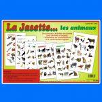 La Jasette... les animaux, une trousse d'activités amusantes pour stimuler le langage, l'acquisition de connaissances et le raisonnement logique - Jeux éducatifs