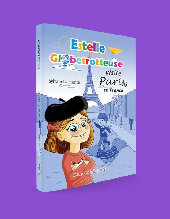 Estelle Globetrotteuse visite Paris, en France, par Sylvain Lacharité