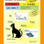 Les sons 2, 1re année par Caroline Simard, Reproductible, PDF