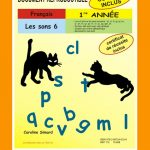Les sons 6, 1re année par Caroline Simard, Reproductible, PDF