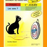 Les sons 7, 1re année par Caroline Simard, Reproductible, PDF