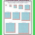 Affiche Nombres carrés