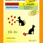 Soustraction 1re année par Caroline Simard, Reproductible, PDF