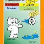 Divisions, 3e année par Caroline Simard, Reproductible, PDF
