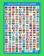 Affiche Drapeaux du monde