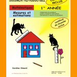 Mesures et estimations, 1re année par Caroline Simard, Reproductible, PDF