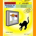 Résolution de problèmes, 1re année par Caroline Simard, Reproductible, PDF