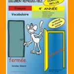 Vocabulaire, 4e année par Caroline Simard, Reproductible, PDF